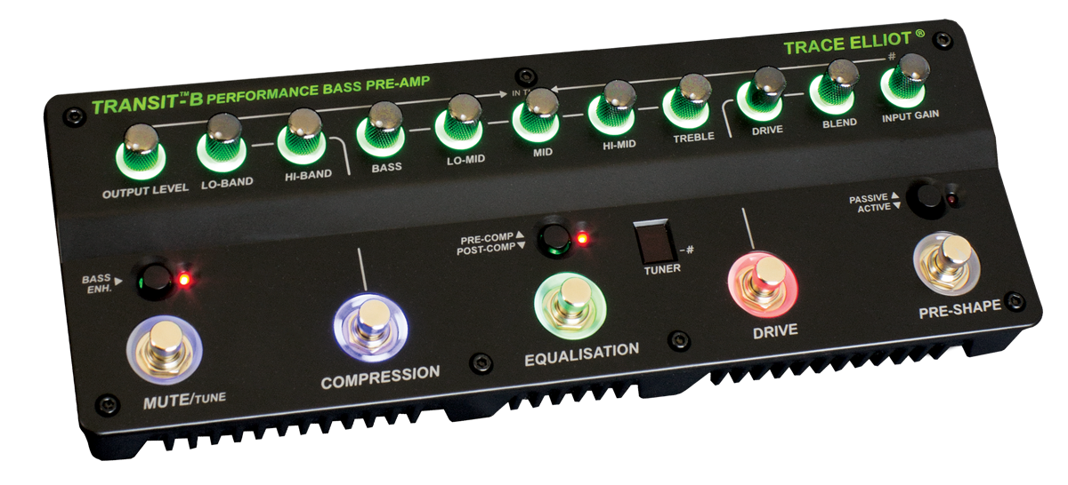 TRACE ELLIOT TRANSIT B - BASS PREAMP & EFFECTS
