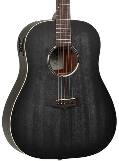TANGLEWOOD TWBB SD E - SMOKESTACK BLACK SATIN