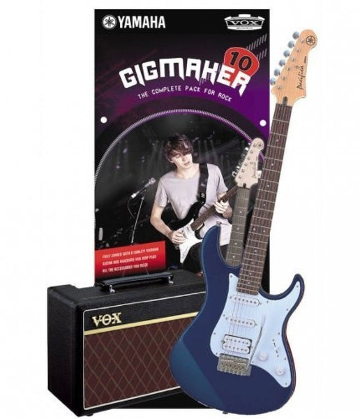 YAMAHA GIGMAKER 10 PACIFICA PACK DARK BLUE METALLIC