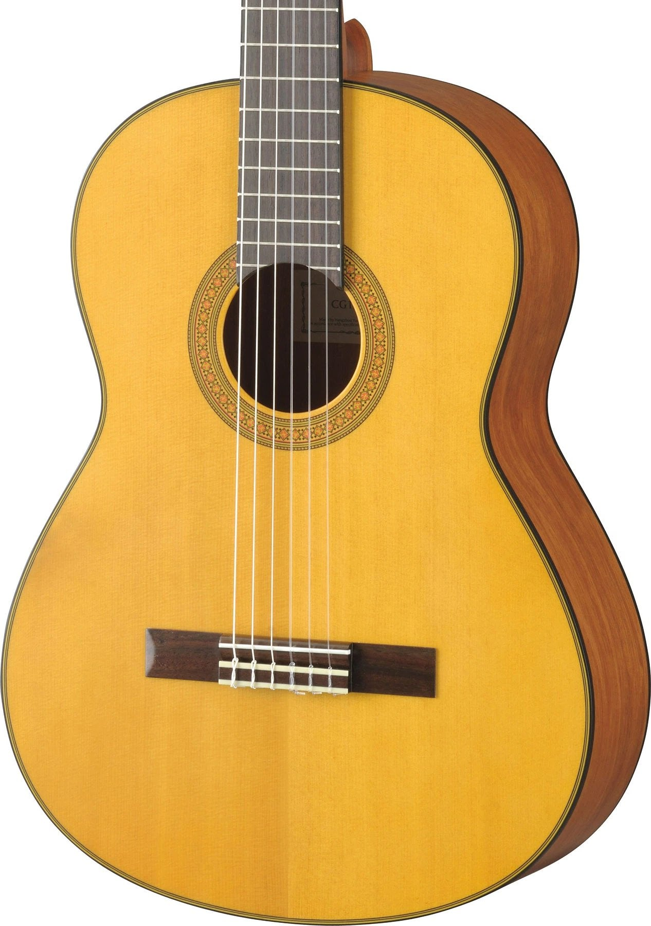 YAMAHA CG122MS NYLON CLASSICAL GUITAR