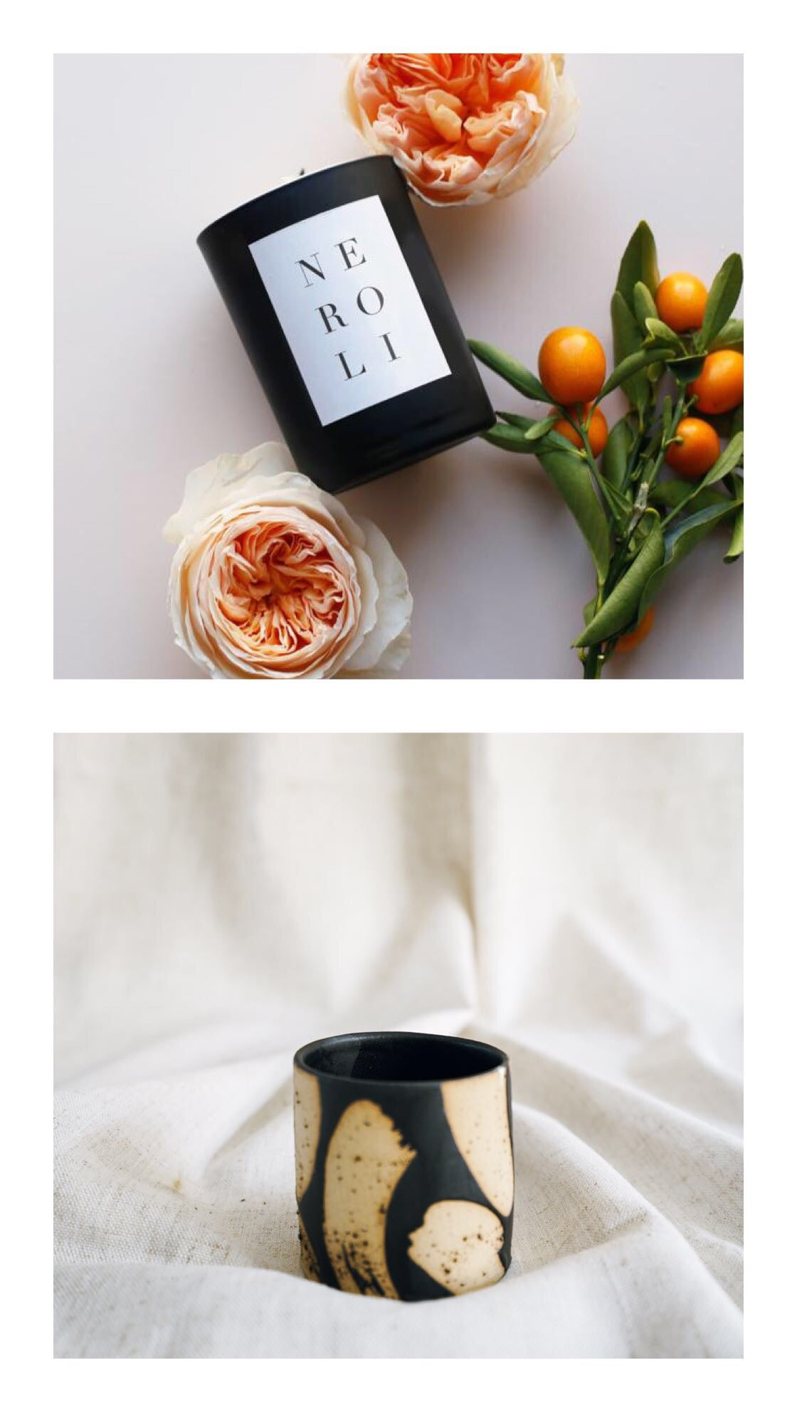 neroli + box planter gift set