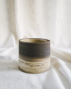 marble raw pot + rose candle gift set