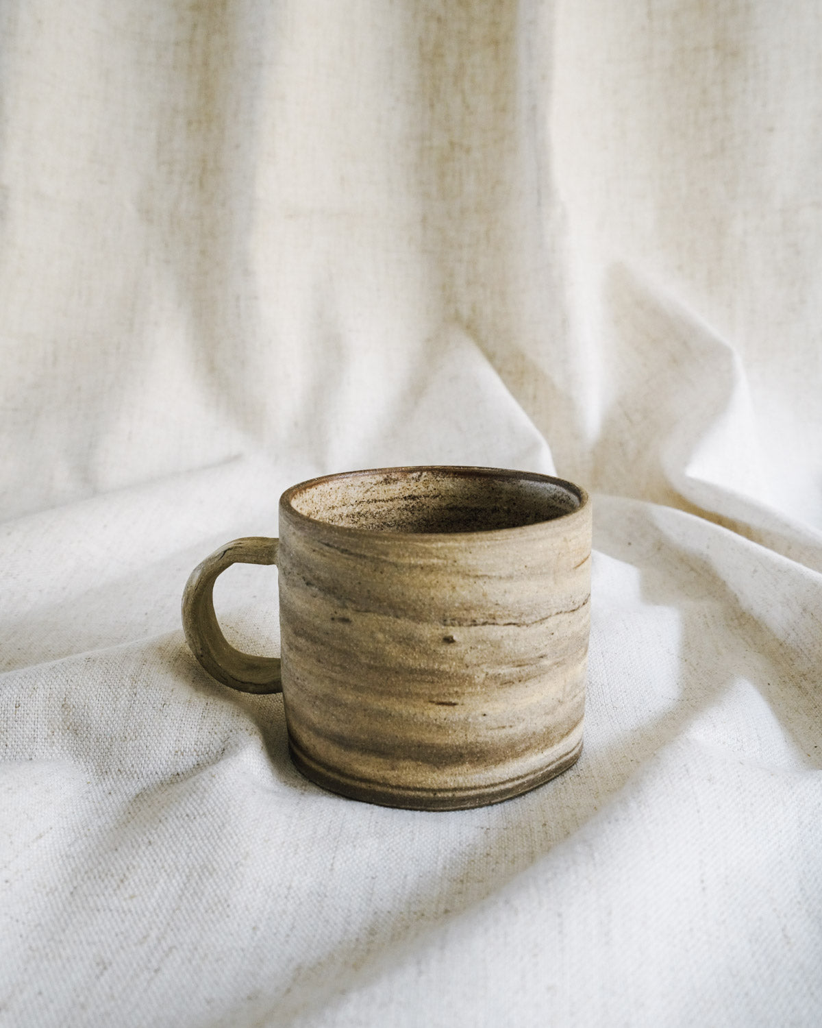 marble raw mug (set of 2) gift set