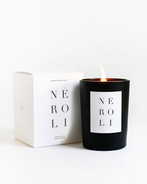 neroli candle + edge mug gift set