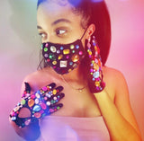 Bedazzled Mask -LIMITED EDITION