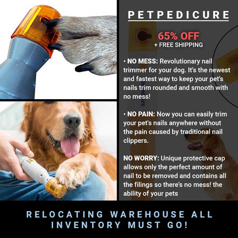 PETPEDICURE Premium Painless Dog Nail Clipper