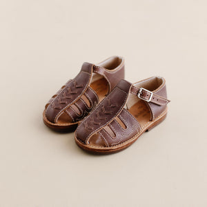 Mateo Sandal Brown Leather