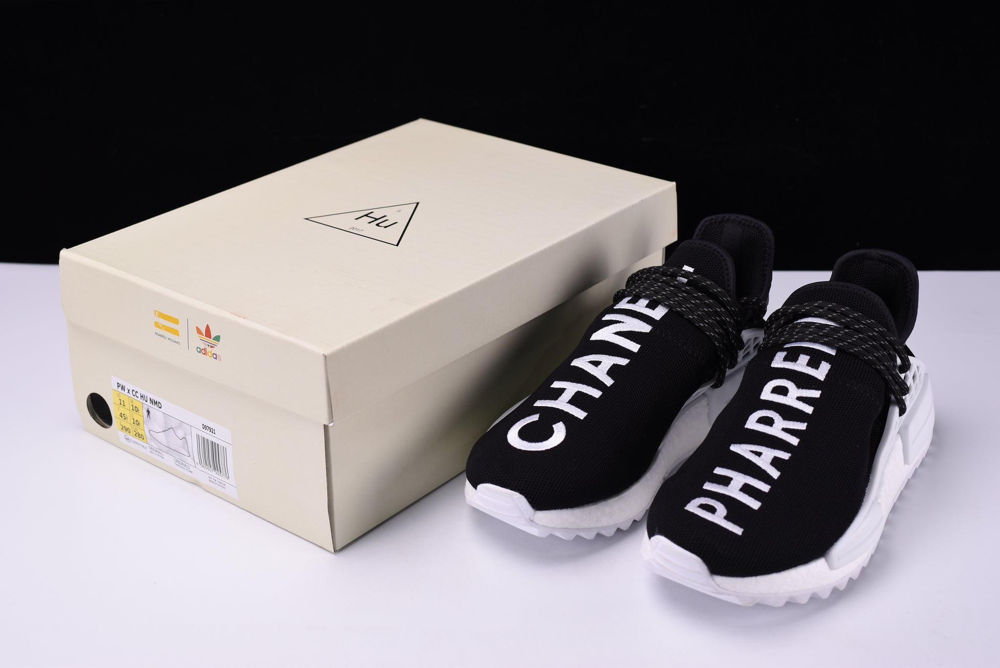 info for 432d6 0883c Adidas PW Human Race NMD HU Pharrell x Chanel Shoes Men's ...