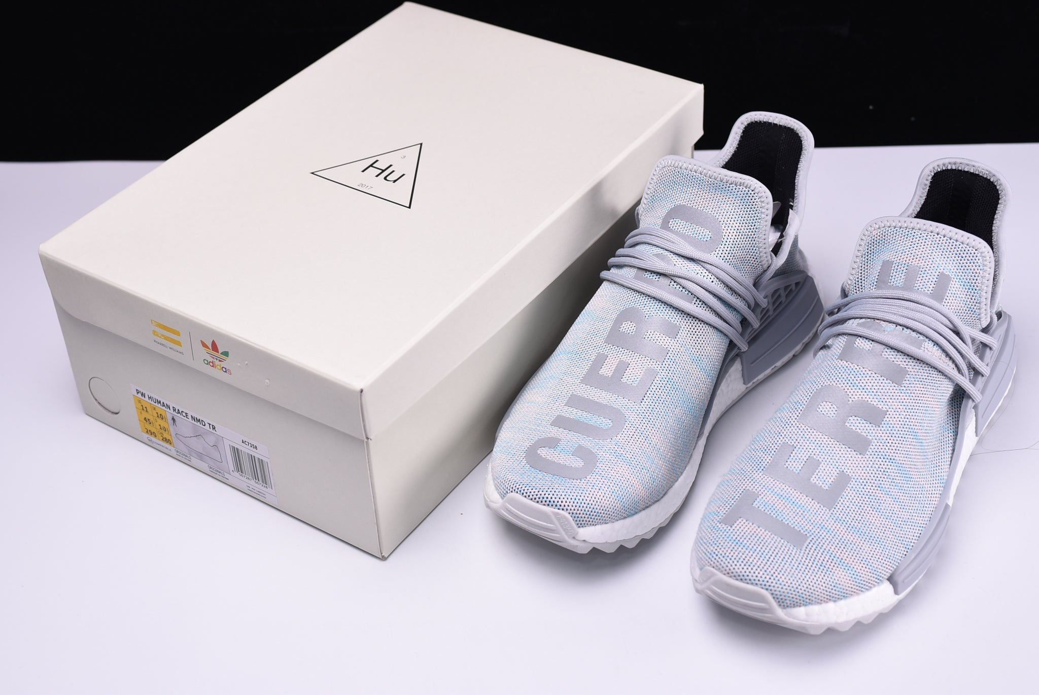 brand new 6ee25 f6b7e Adidas Human Race NMD Pharrell TR Shoes Men's Billionaire ...