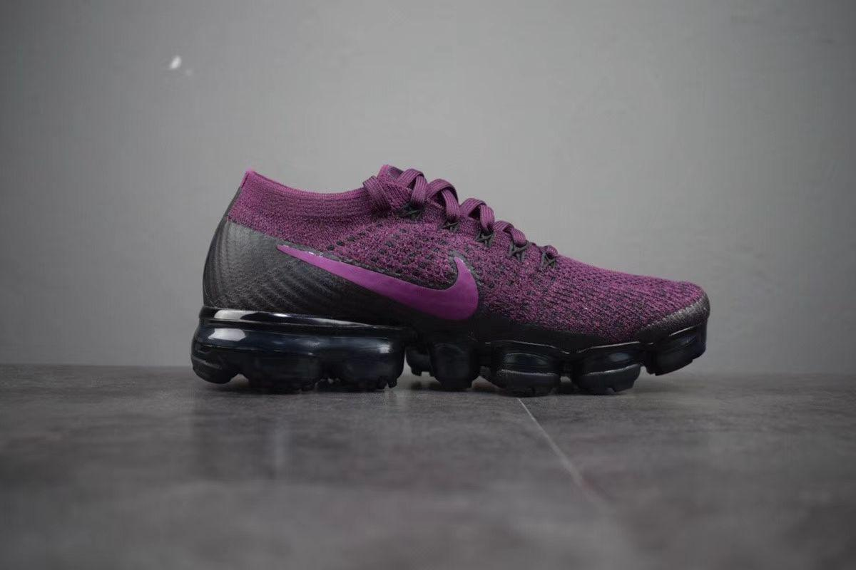 84bde8c5f9944 Nike Air VaporMax Flyknit Berry Shoes Women Purple Running – Ifbay
