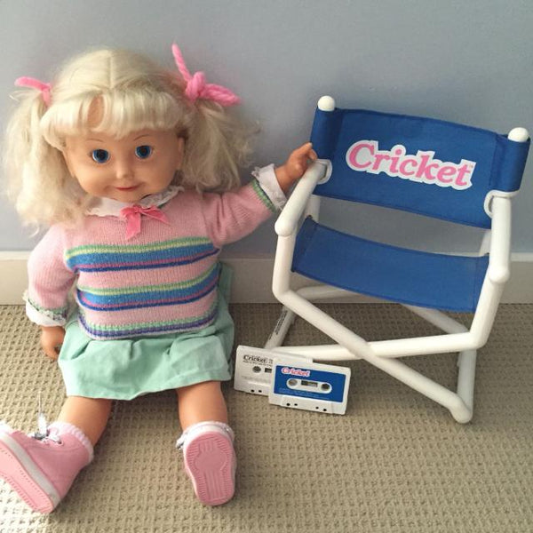 Cricket doll