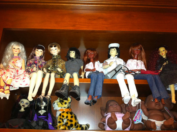 display dolls collection