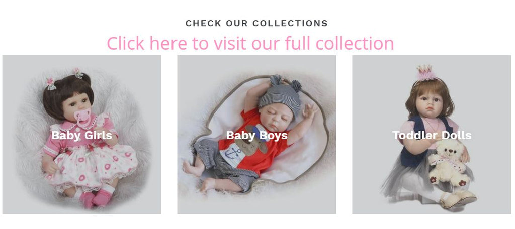 our baby dolls collection