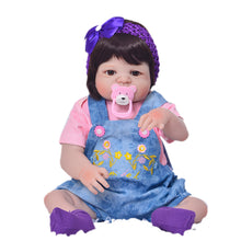 "23"" Full Vinyl Body Newborn Baby Girl Toddler"