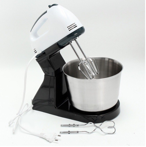 7 Speed Hand Mixer with Stand (2L Capacity) - Shop Save & Bake