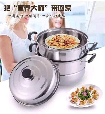 Stainless Steel Multi-functional Steamer
