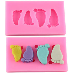 Baby Feet Silicone Mold - COD Philippines - Shop Save & Bake
