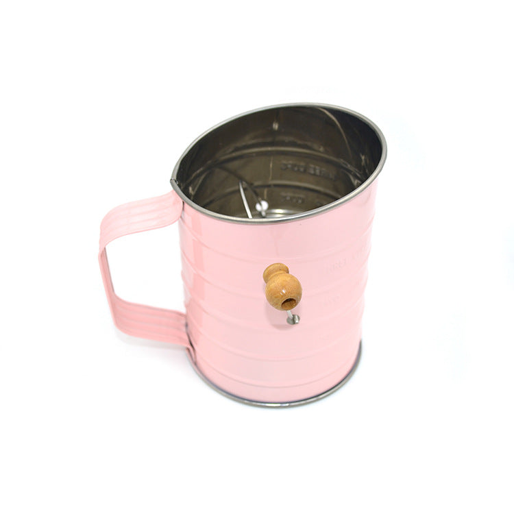 Candy Color Stainless Steel Flour Sifter - Shop Save & Bake