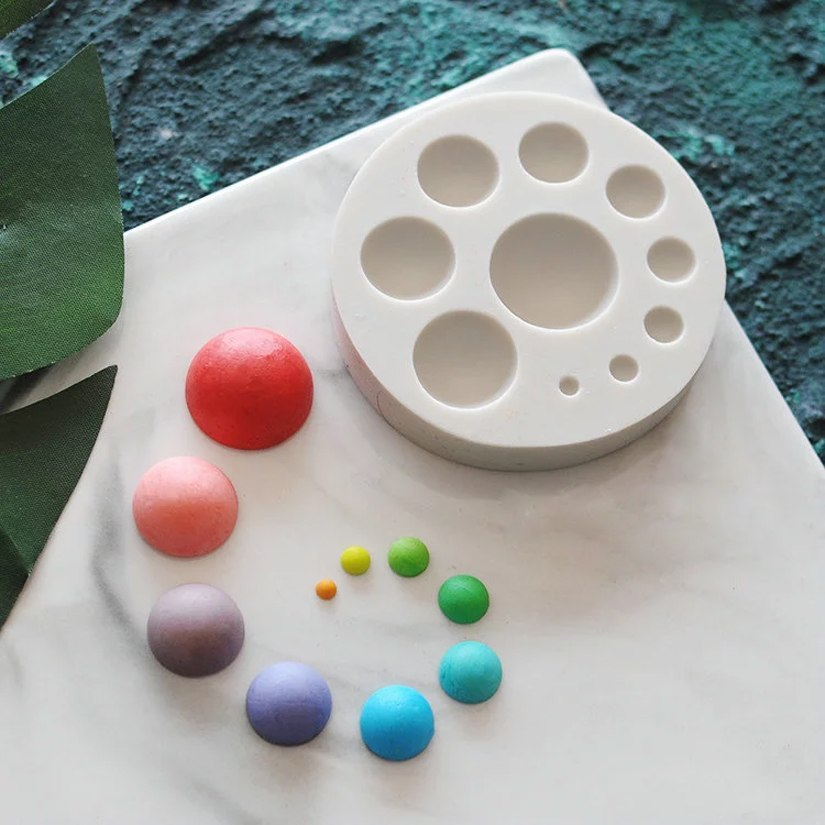 Circle Silicone Mold - Shop Save & Bake