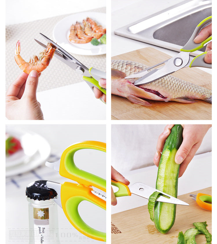 The Ultimate 8-in-1 Magnetic Kitchen Shears - Shop Save & Bake
