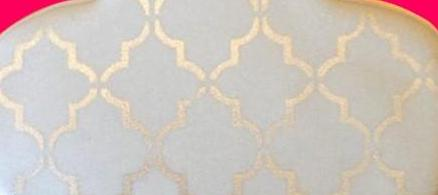 Classic Pattern Cookie Stencil - Shop Save & Bake