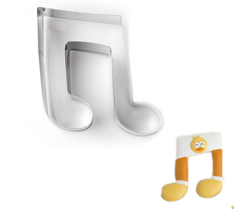Stainless Steel Musical Note Cookie Cutter - Shop Save & Bake
