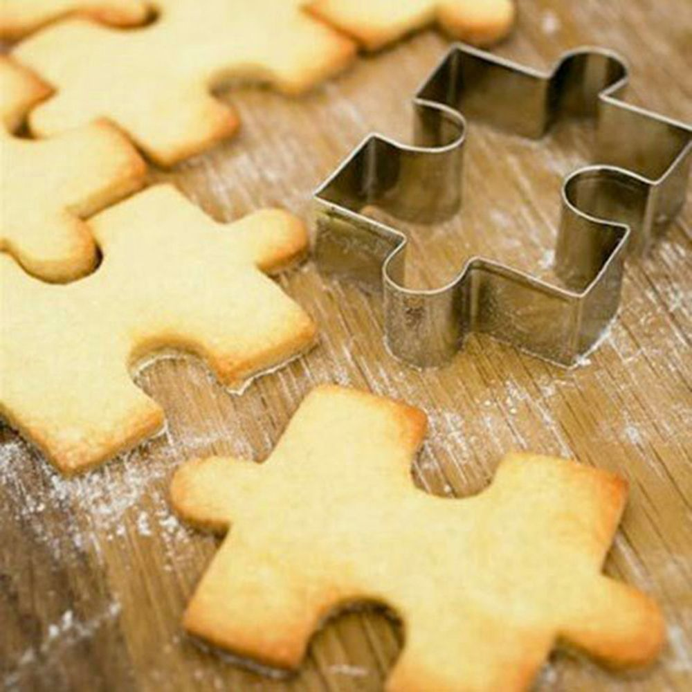 Puzzle Stainless Steel Cookie Cutter - COD Philippines - Shop Save & Bake