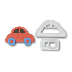 2 pcs./set Plastic Car Fondant Cutter - COD Philippines - Shop Save & Bake