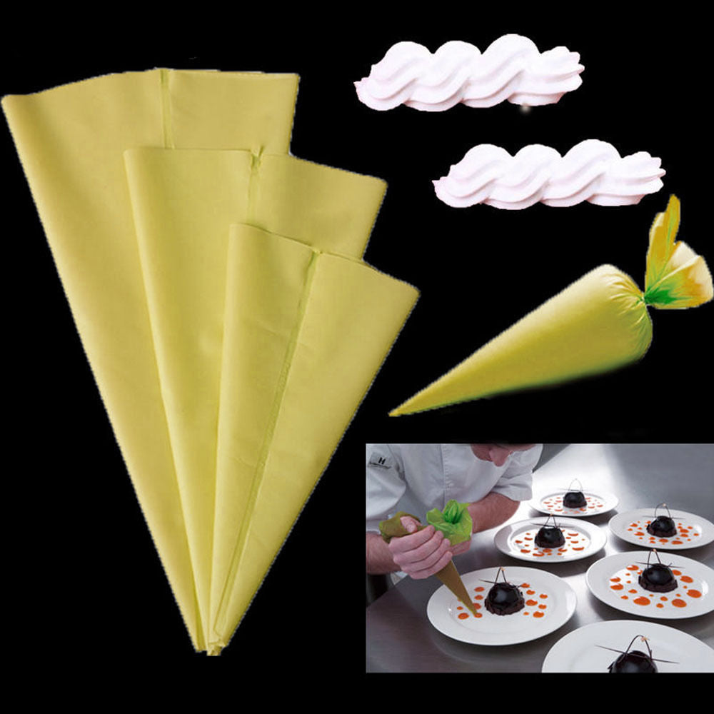 Reusable Silicone Pastry Bags (3 Sizes Available) - Shop Save & Bake