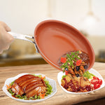 Ultimate Non-stick Copper Pan with Ceramic Coating (6 sizes available) - Shop Save & Bake