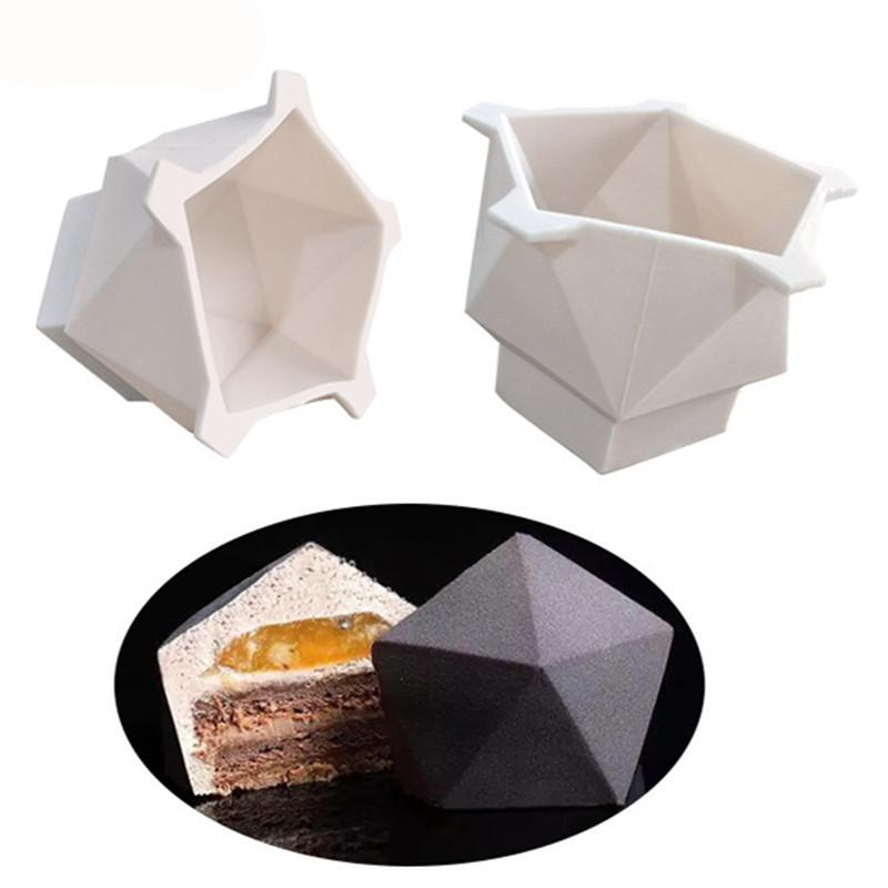 Geometrical 3D Cake Mold - Shop Save & Bake