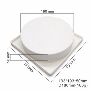 High-Quality Round Silicone Mousse Mold (180 mm. x 50 mm.) - Shop Save & Bake
