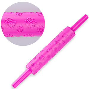 Small Rolling Pins with Embossed Designs (5 designs available) - Shop Save & Bake