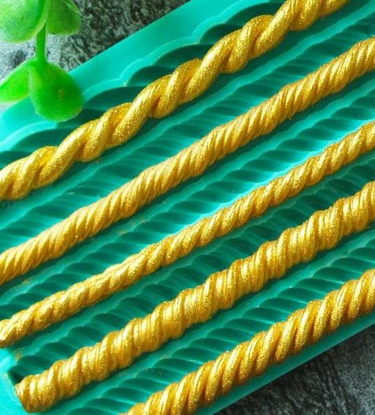 5 Types of Rope Silicone Mold - Shop Save & Bake