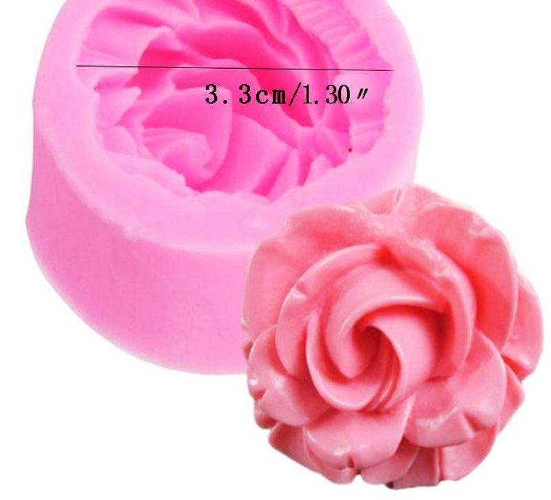 Rose Flower Silicone Mold - Shop Save & Bake