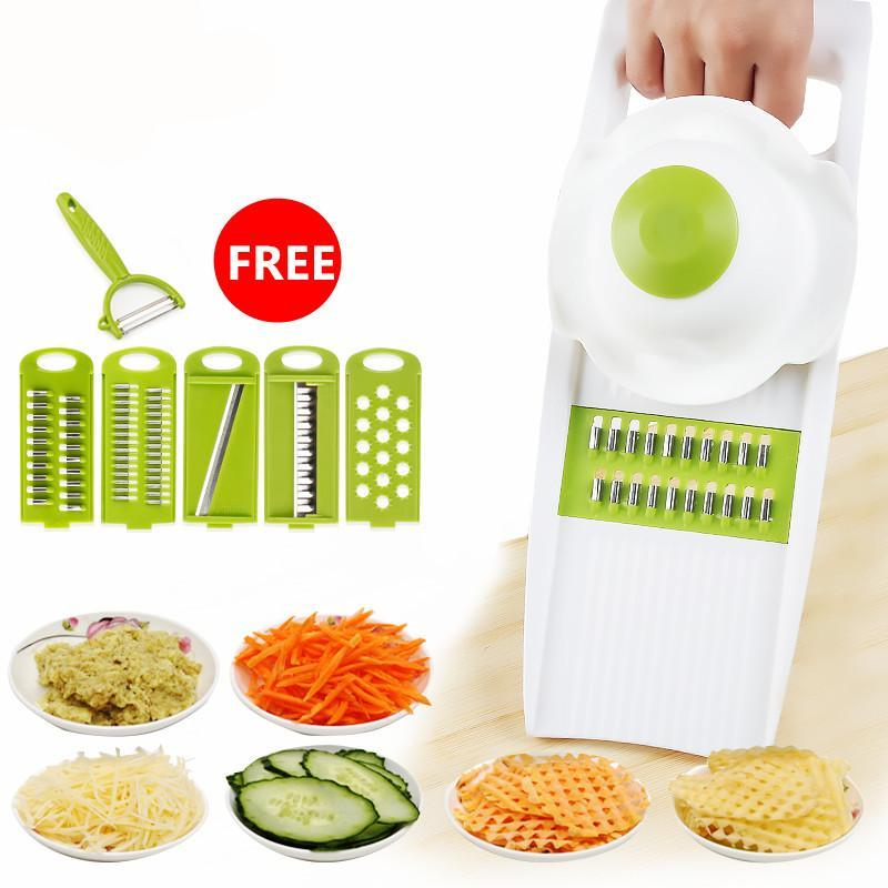 5 plus 1 Stainless Steel Slicer - Shop Save & Bake