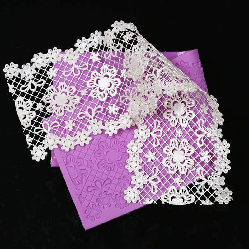 Floral Sugar Lace Silicone Mold - Shop Save & Bake
