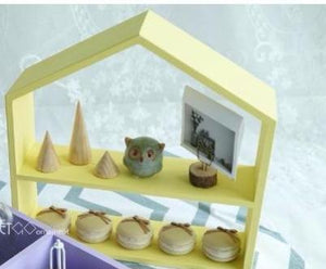 Wooden House Cupcake Holder (available in 2 variants and different colors) - Shop Save & Bake