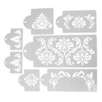 7 pcs. Vintage Lace Cake Stencils - Shop Save & Bake