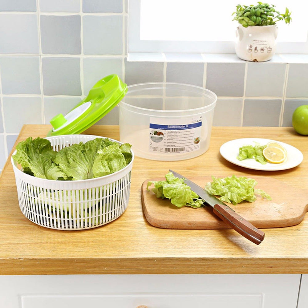 Salad Spinner and Vegetable Dehydrator - Shop Save & Bake