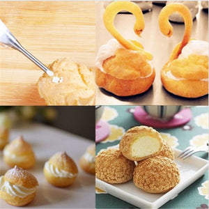 Cream Puff Filling Tips (2 sizes available)  - COD Philippines - Shop Save & Bake