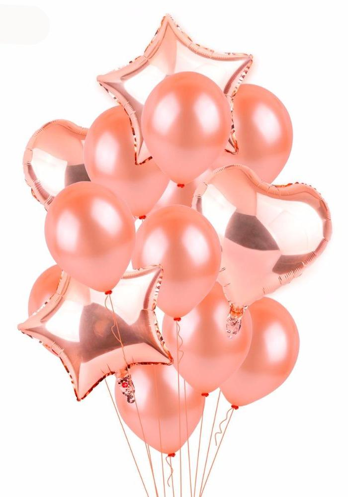 Pink Champagne Party Needs - Balloons, Decorations, Plates etc. - Shop Save & Bake