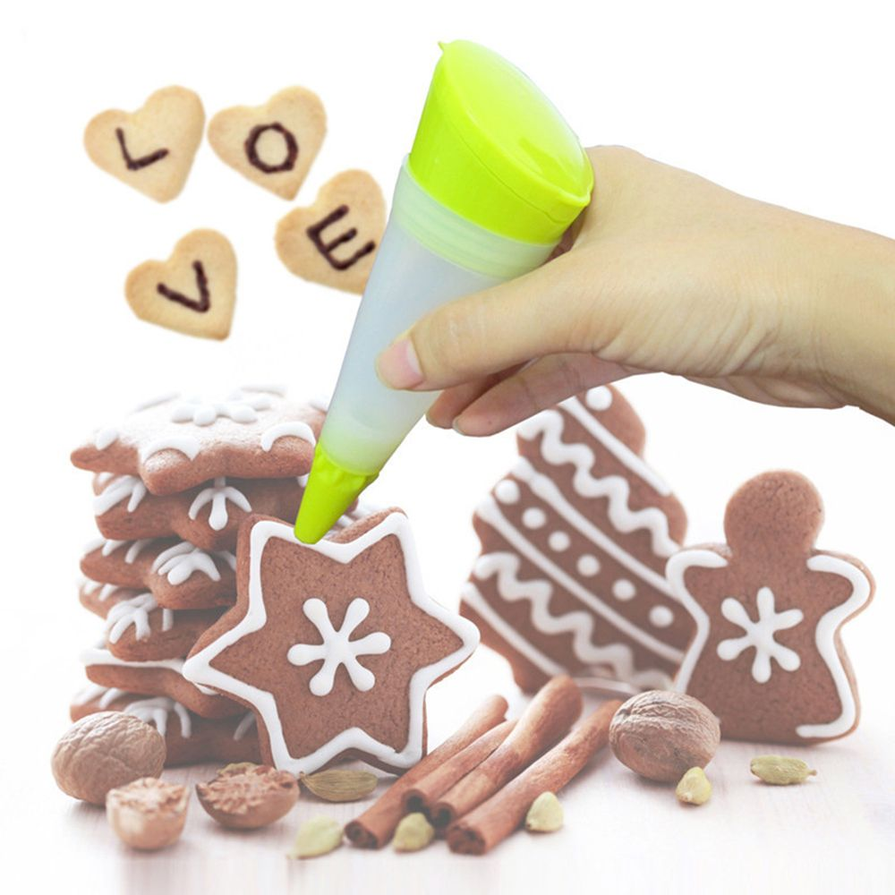 Silicone Icing Pen for Chocolate and Cake Decorating - Shop Save & Bake