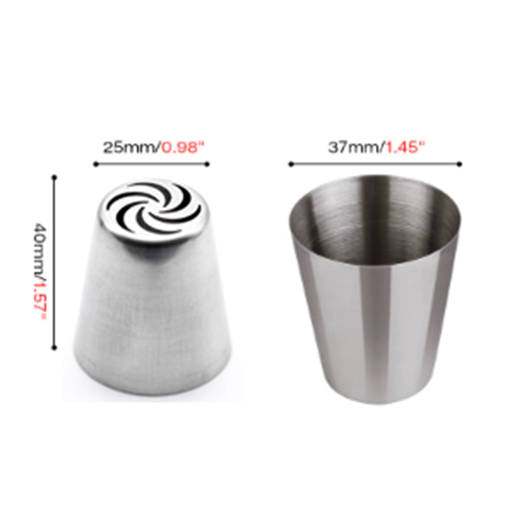 Spiral Russian Icing Tip - Shop Save & Bake