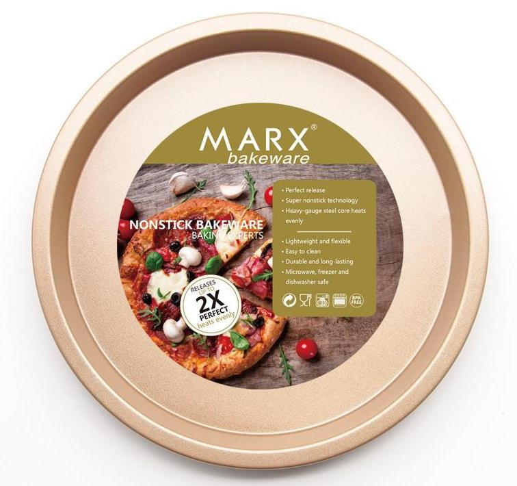 MARX Non-Stick Pizza Pans (6/7/8 inches and set of 3, available) - Shop Save & Bake