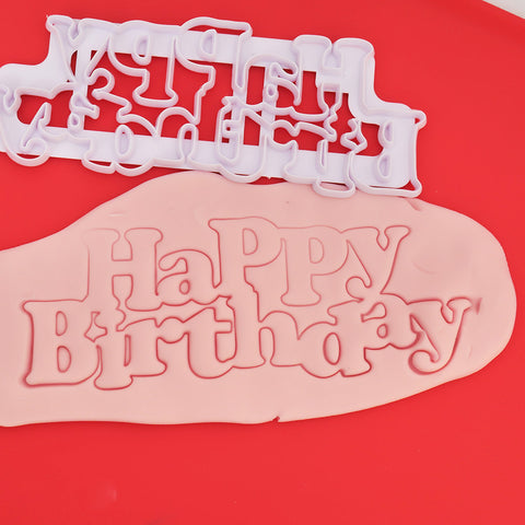 Happy Birthday Plastic Cutter - COD Philippines - Shop Save & Bake