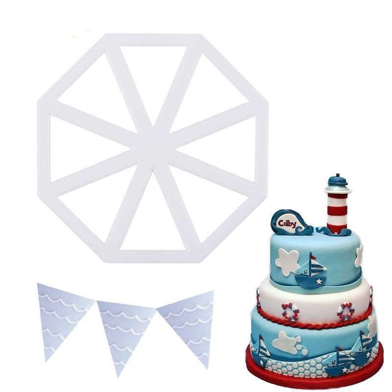 Flaglets Fondant and Cookie Cutter - Shop Save & Bake