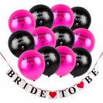 Bachelorette Party Balloons with Bride To Be Banner - Shop Save & Bake
