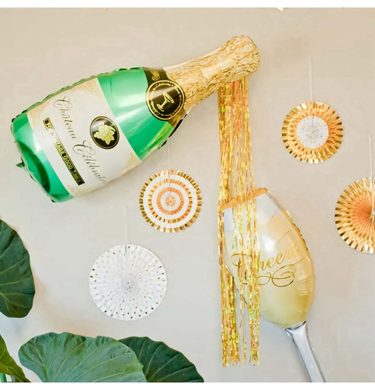 Party with Champagne Balloons - Shop Save & Bake