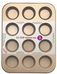 MARX Non-Stick Muffin Pan (12 muffin cups) - Shop Save & Bake